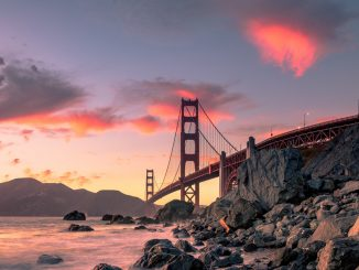 Golden Gate Bridge in San Francisco by oplattner (Unsplash.com)
