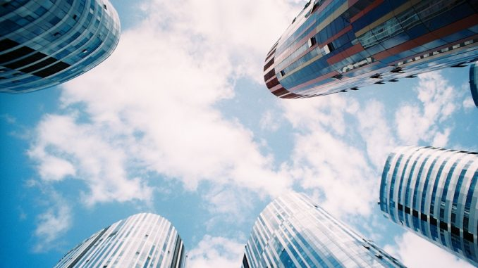 low angle photography of high rise buildings by iyolanda (Unsplash.com)