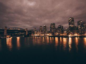photo of lighted city by fellowferdi (Unsplash.com)