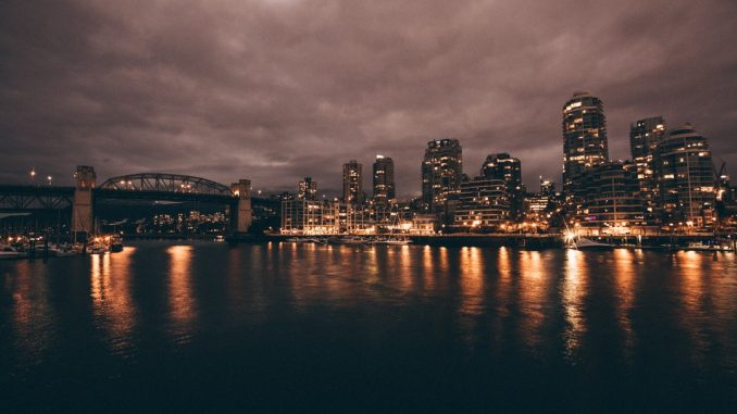 photo of lighted city by fellowferdi (Unsplash.com)
