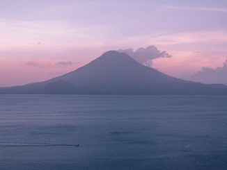 Sunset on Lake Atitlan by rpnickson (Unsplash.com)