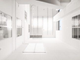 Futuristic white interior by samuelzeller (Unsplash.com)