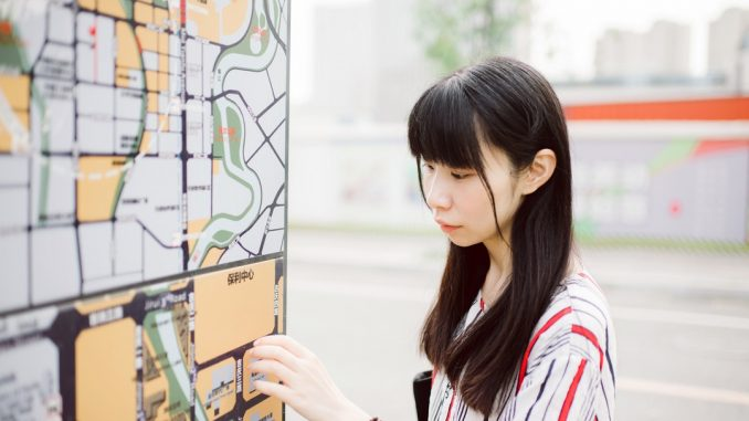 This is a Map card,It's very nice. by chenpitu (Unsplash.com)