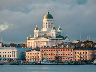 Helsinki Cathedral in Autumn Sunset by tap5a (Unsplash.com)