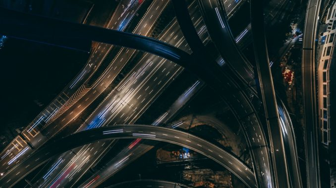 Light Trails on Pencala Link Interchange by fahrulazmi (Unsplash.com)