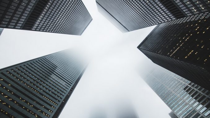 Foggy skyscrapers by matthewhenry (Unsplash.com)
