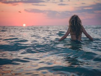 Walking along the beach, we decide to cast into the warm Florida water to capture the fascinating display of colors all around us. by lukedahlgren (Unsplash.com)