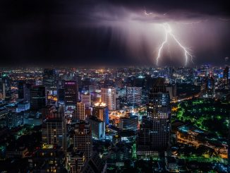 Lighting Storm at Night by dominik_qn (Unsplash.com)