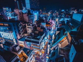 Shinjuku in Blue by benjaminhung (Unsplash.com)