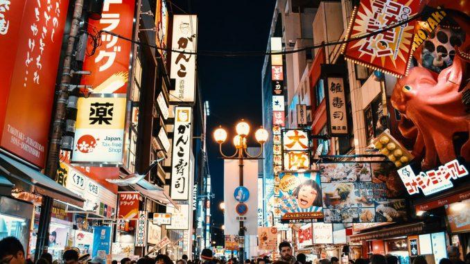 Dotonbori Street in Osaka, Japan by agathemarty (Unsplash.com)