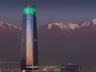 The Gran Torre Santiago, is a 64-story tall skyscraper in Santiago, Chile, the tallest in Latin America. It was designed by Argentine architect César Pelli. by xnahmias (Unsplash.com)
