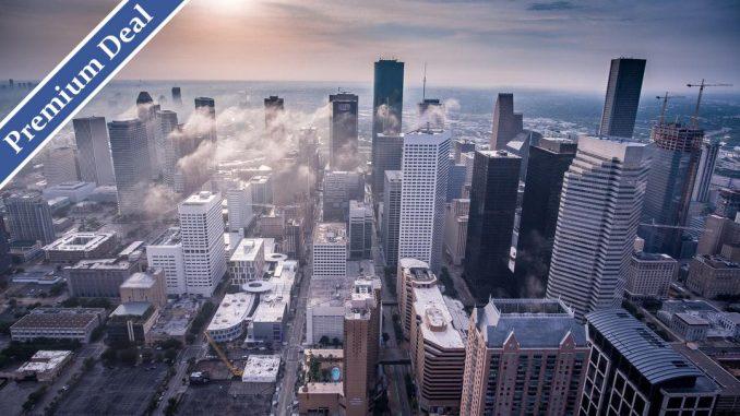 drone view of a city by juvx (Unsplash.com)